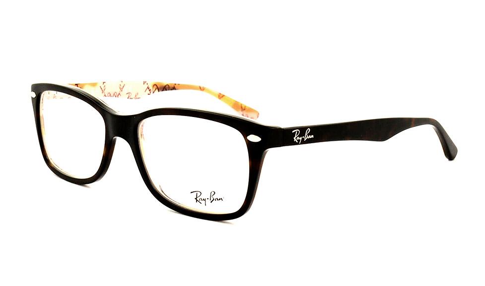 brille ray ban schwarz matt
