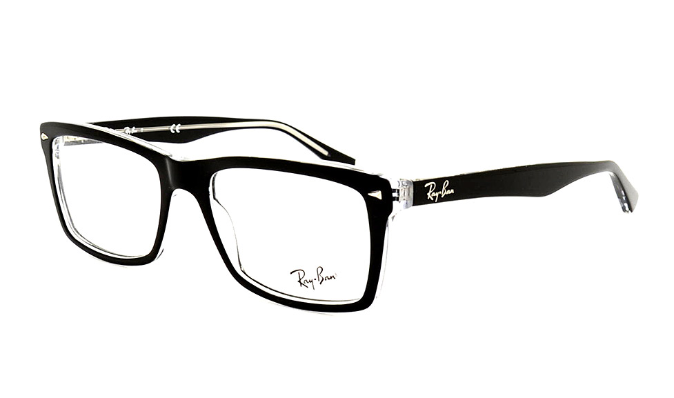 ray ban sonnenbrille transparent