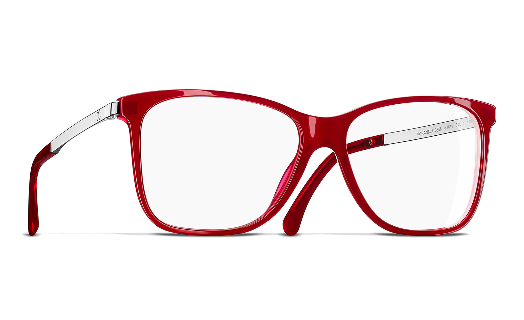 Brille Rot