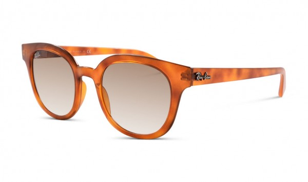 Ray Ban RB 4324 6475-51 50 Yellow Light Havana Clear Gradient Brown