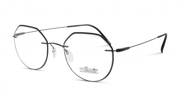 Silhouette 5500-GZ 9240 50 Schwarz Matt