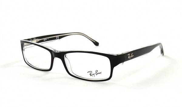 Ray Ban RX 5114 2034 52 Top Black On