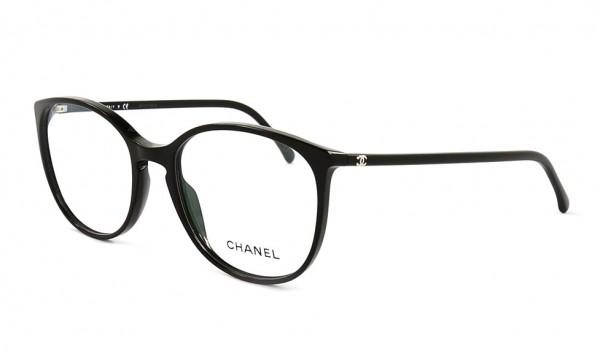 Chanel 3282 c501 54 Schwarz