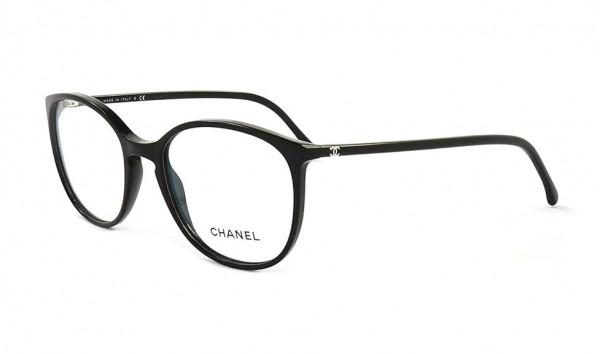 Chanel 3282 c501 52 Schwarz