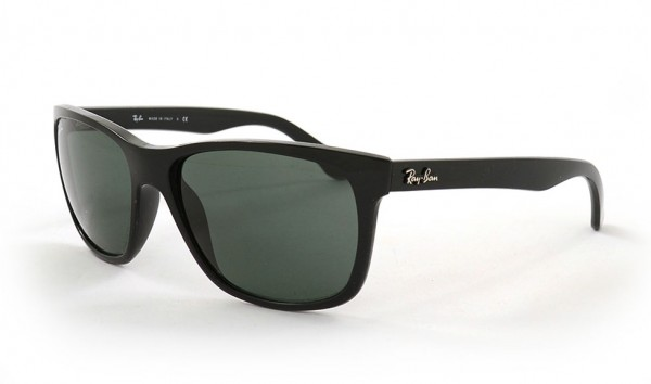 Ray Ban RB 4181 601 57 Black Crystal Green