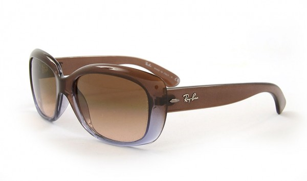Ray Ban Jackie Ohh RB 4101 860-51 58 Brown Gradient Lilac Crystal Mg Chocolate Grad