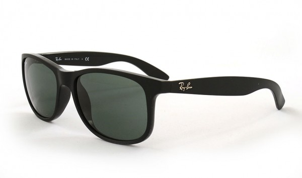 Ray Ban Andy RB 4202 6069-71 55 Matte Black Dark Green