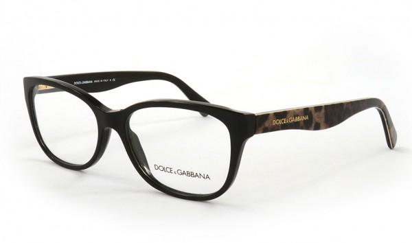 Dolce & Gabbana DG3136 2525 55 Schwarz