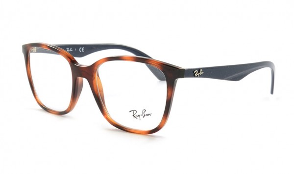 Ray Ban RX 7066 5585 52 Light Havana