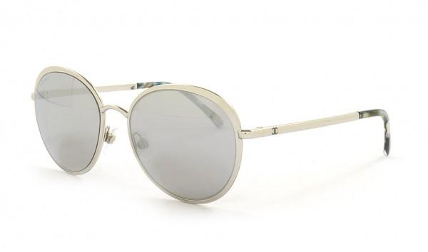 Chanel CH 4206 C124-6G 55 Silber
