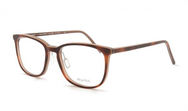 Munic Eyewear Mod 883-2 col 398 51 Braun Matt