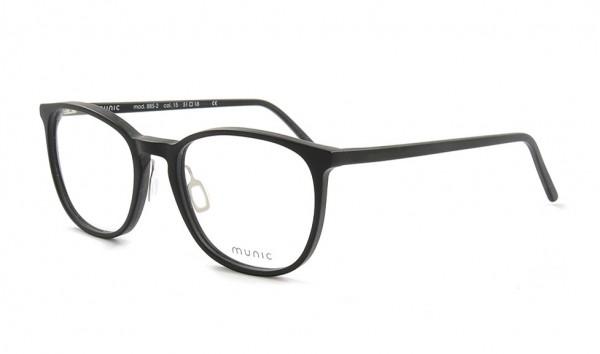 Munic Eyewear Mod 885-2 col 15 51 Schwarz Matt