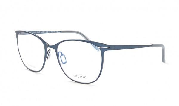 Munic Eyewear Mod 886-2 col 3 52 Blau Matt