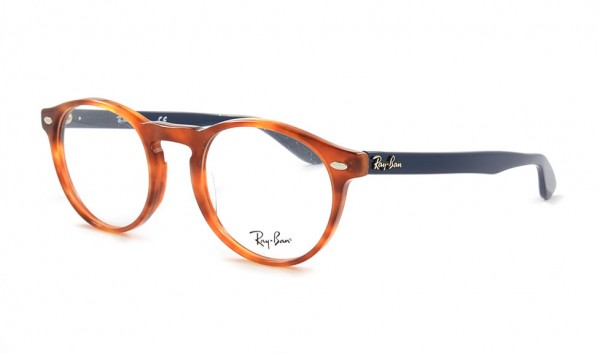 Ray Ban RX 5283 5609 49 Yellow Tortoise