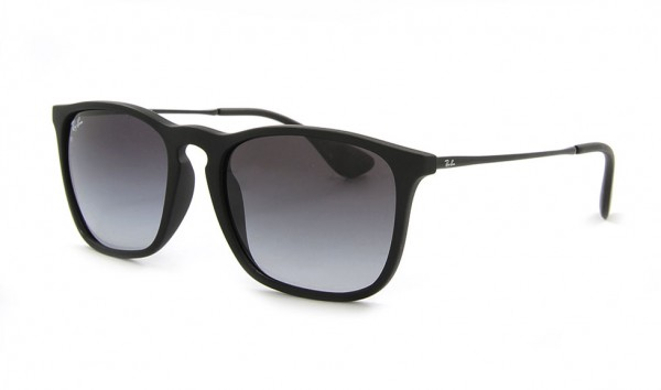 Ray Ban CHRIS RB 4187 622-8G 54 Rubber Black Grey Gradient