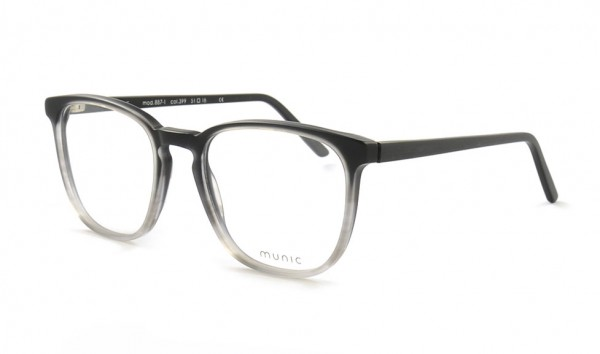 Munic Eyewear Mod. 887-1 col 399 51 Schwarz Matt