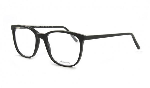 Munic Eyewear Mod. 889-1 col 15 54 Schwarz Matt