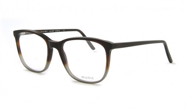 Munic Eyewear Mod. 889-1 col 409 54 Schwarz Matt