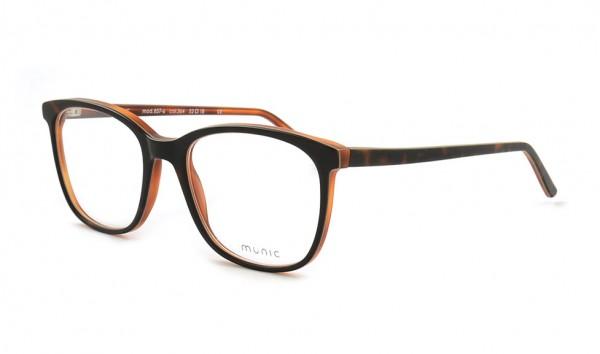 Munic Eyewear Mod 857-6 col 364 52 Braun Matt