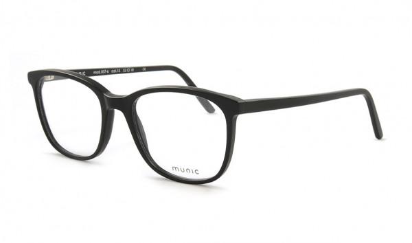 Munic Eyewear Mod 857-6 col 15 52 Schwarz Matt