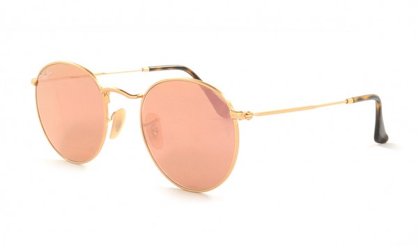 Ray Ban Round Metal RB 3447-N 001-Z2 50 Golden