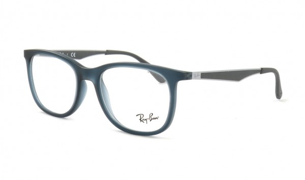 Ray Ban RX 7078 5679 51 Matte Transparent Blue