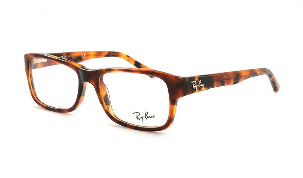 Ray Ban RX 5268 567552 Top Brown Havana Yellow Havana