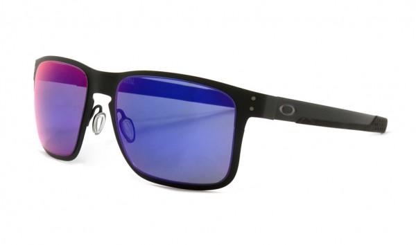Oakley Holbrook OO4123-0255 Matte Black Red Iridium