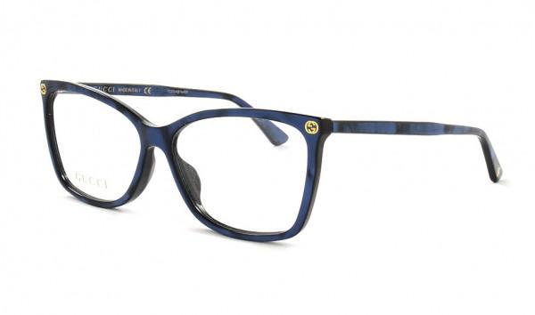 Gucci GG 0025 O 005 56 Blau