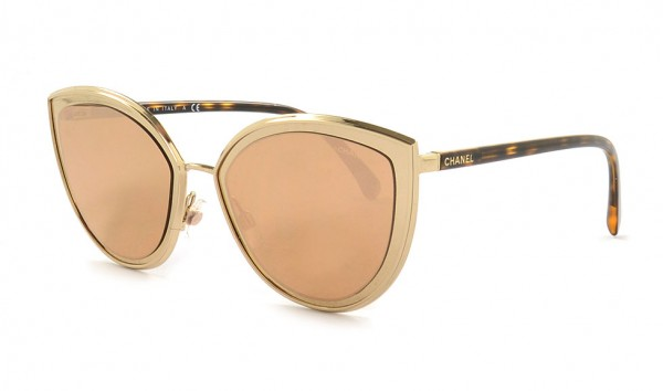 Chanel CH 4222 395-T6 54 Gold