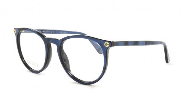 Gucci GG 0027 O 005 50 Blau