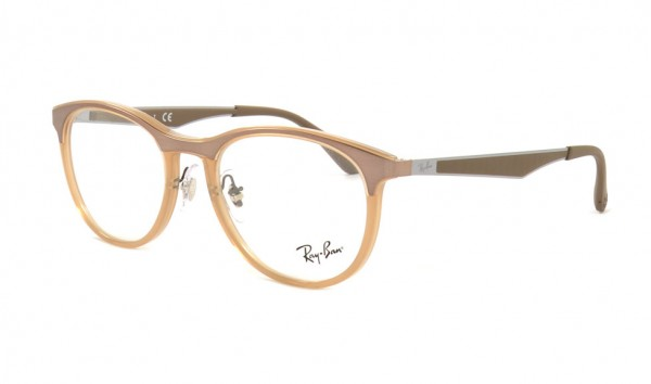 Ray Ban RX 7116 8018 51 Trasparent Beige