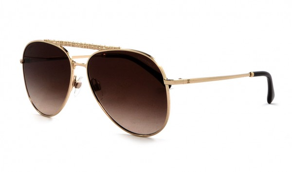 Chanel CH 4231 395-S5 59 Gold