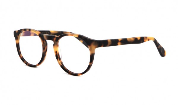 Battatura B10 Raw Blond Tortoise 48 Braun Matt