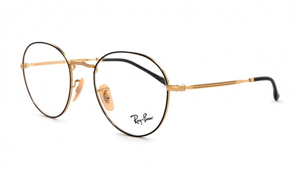 Ray Ban RX 3582-V 2946 51 Gold On Top Black