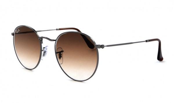 Ray Ban RB 3447-N 004-51 50 Gunmetal Crystal Brown Gradient