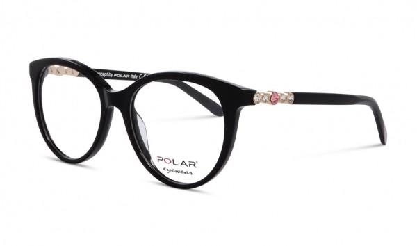 Polar Eyewear Crystal 1 77 52 Schwarz
