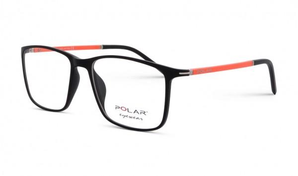 Polar Eyewear Teen 02 76 52 Schwarz Matt