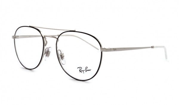 Ray Ban RB 6414 2983 53 Silver Top Black