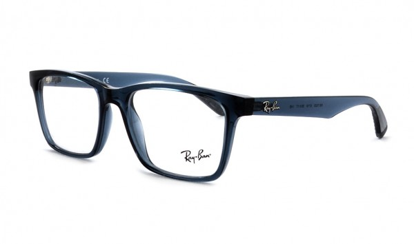 Ray Ban RB RX 7025 5719 55 Trasparent Grey Blue