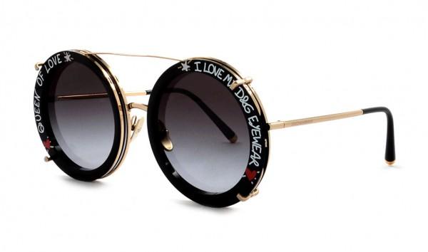 Dolce & Gabbana DG 2198 02-8G 63 Schwarz