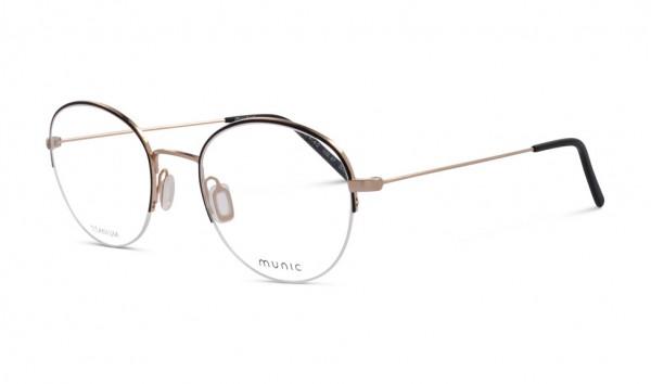 Munic Eyewear Mod 414-2 67 50 Schwarz Matt