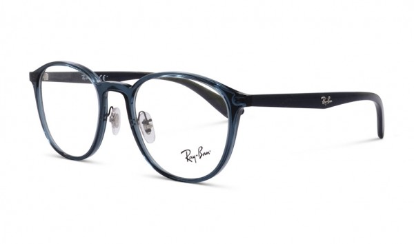 Ray Ban RB 7156 5796 51 Trasparent Dark Blue