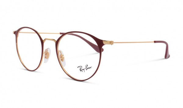 Ray Ban RB 6378 3028 47 Gold On Top Amaranth