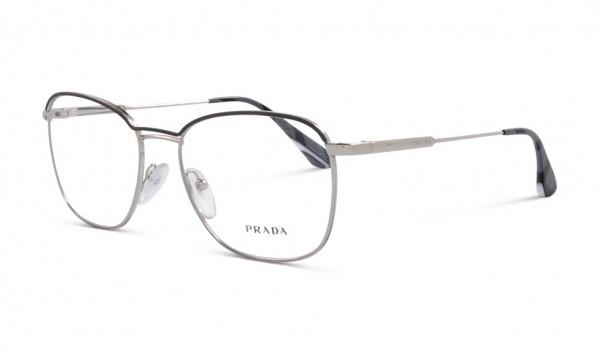 50-70% Rabatt aliexpress Qualität und Quantität zugesichert Prada VPR57V 329-101 52 Silber