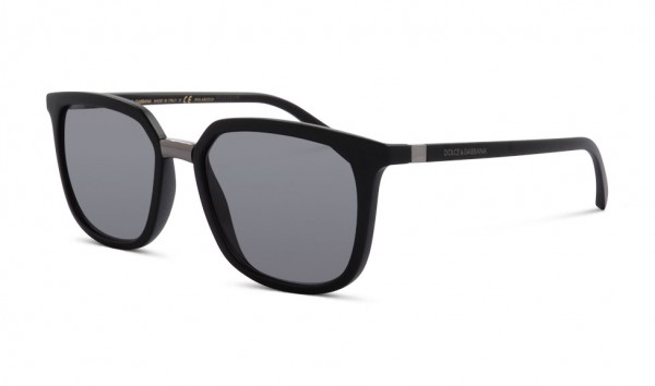 Dolce & Gabbana DG 6114 2525-81 53 Schwarz Matt