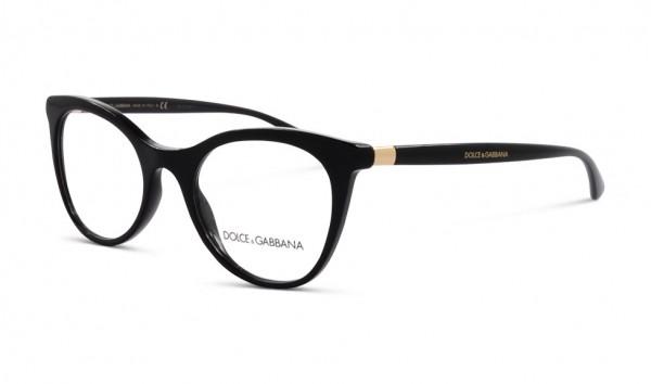 Dolce & Gabbana DG 3312 501 50 Schwarz