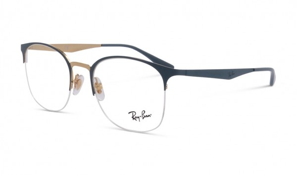 Ray Ban RB 6422 3039 49 Top Matte Grey On Shiny Gold