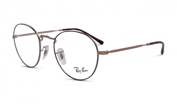 Ray Ban RB 3582-V 3035 49 Top Blue On Matte Copper