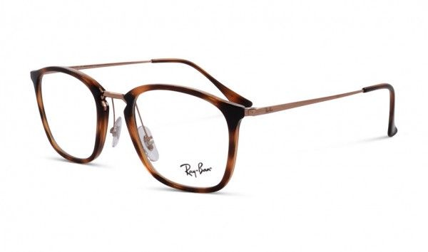 Ray Ban RB 7164 5687 50 Stripped Havana